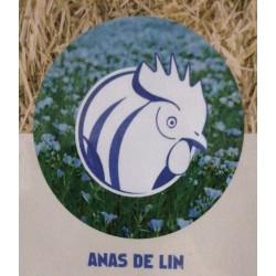 Litière Anas de lin