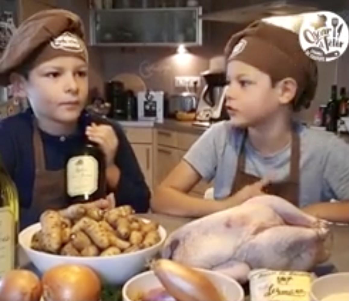 «Confinement oblige, nous n'avons pas pu cuisiner le vin jaune avec un chef.»